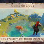 Guide des trésors du mont Aozang !