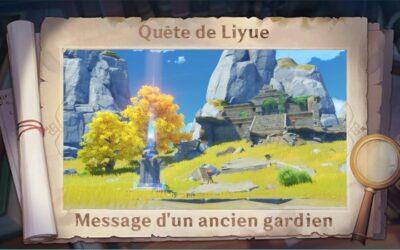 Guide de Liyue : Message d'un ancien gardien !