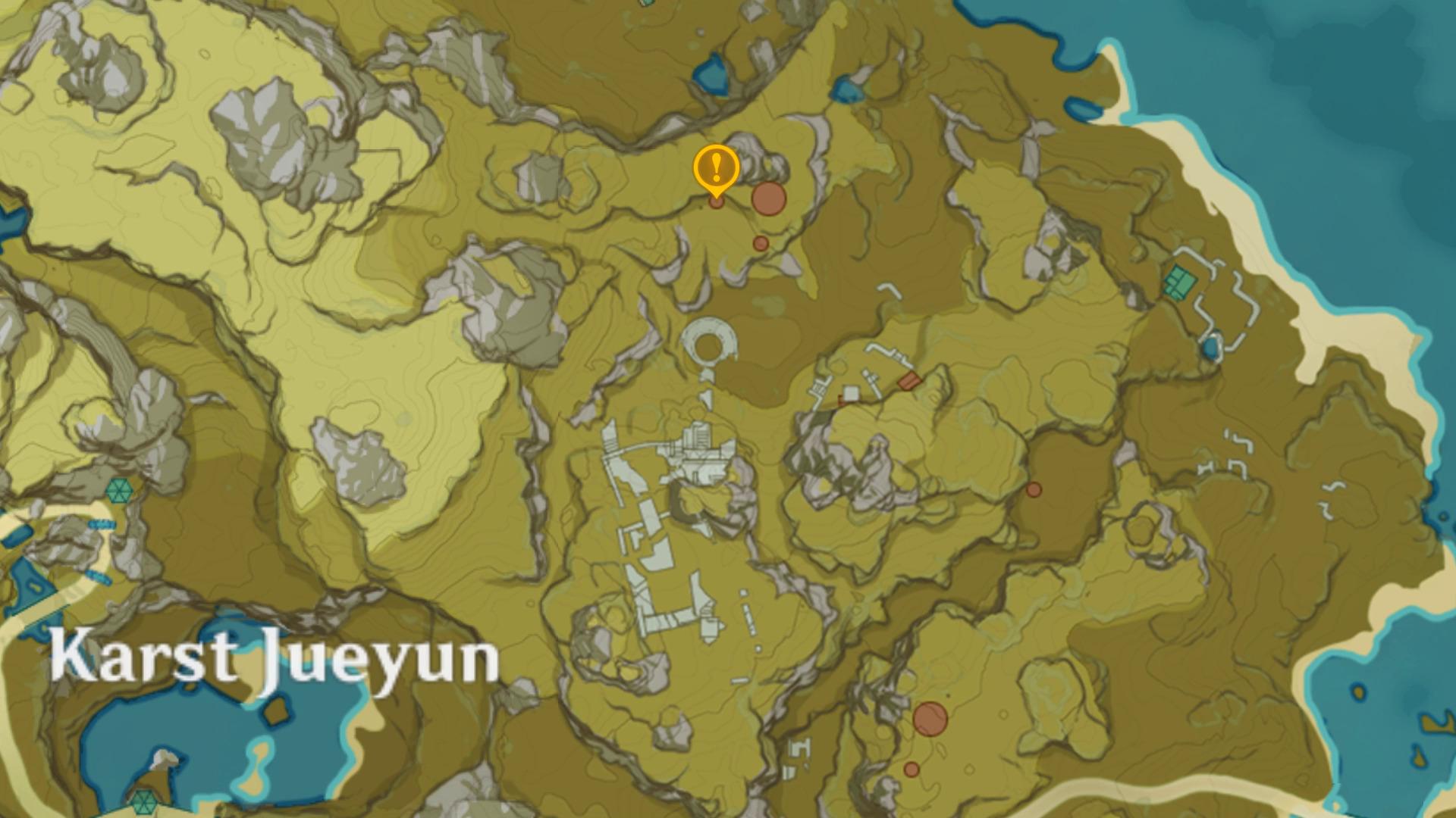emplacement de la 1ere pyramide