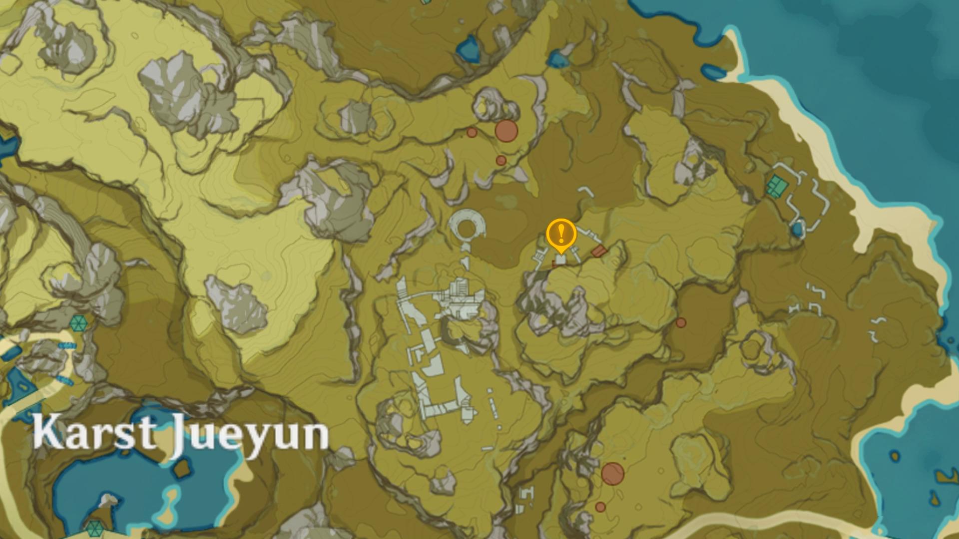 emplacement de la 2e pyramide