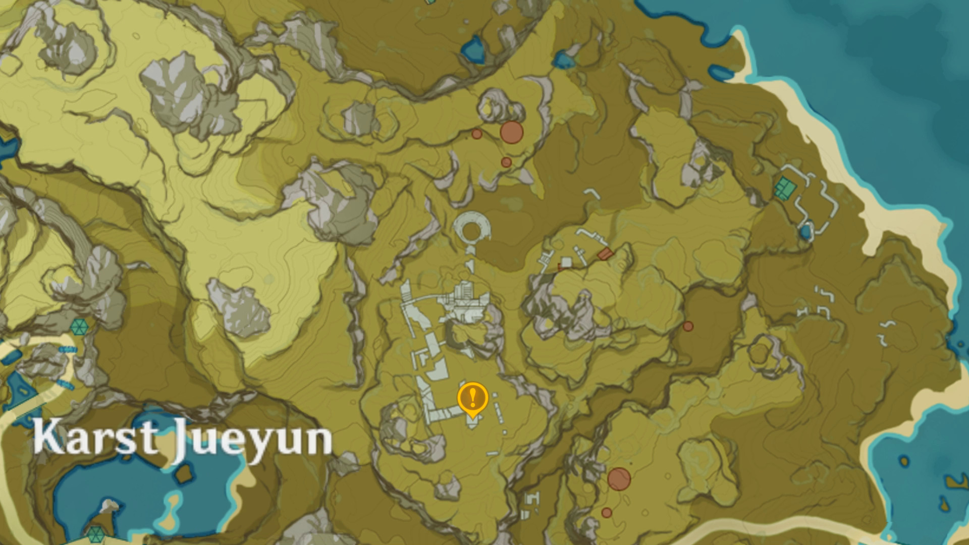 Emplacement de la 3e pyramide