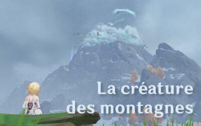 Guide de Dosdragon : La créature des montagnes !