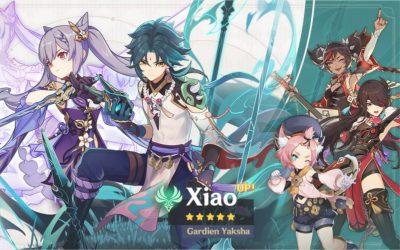 Les détails des bannières Xiao et Keqing !