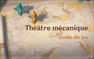 """Guide de l'événement """"Théâtre Mécanique"""""""