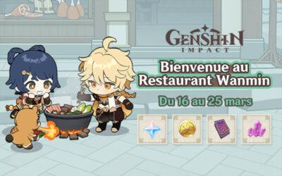"""Le guide complet de l'event """"Bienvenue au restaurant Wanmin"""" !"""