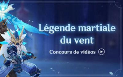 Concours de vidéos : Légende martiale du vent !