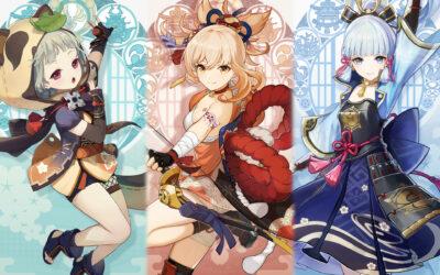 Yoimiya, Sayu, Ayaka et nos suppositions pour la 1.7 et Inazuma !