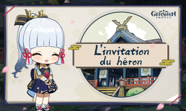 """Le guide complet de l'événement """"L'Invitation du Héron"""" !"""