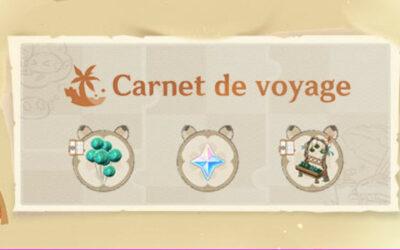 Le guide complet de l'événement Carnet de voyage !
