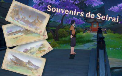 """Obtenir et réaliser la quête cachée """"Souvenirs de Seirai"""""""