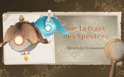 Guide de l'événement «Sur la trace des spectres»