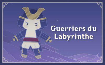 Guide de l'événement «Guerriers du Labyrinthe»